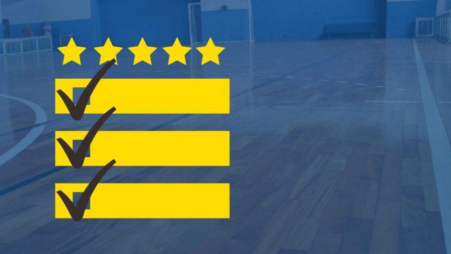 Como é feita a avaliação de quadras do Joga?